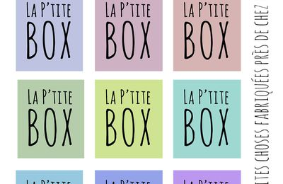 Une nouvelle aventure #laptitebox#