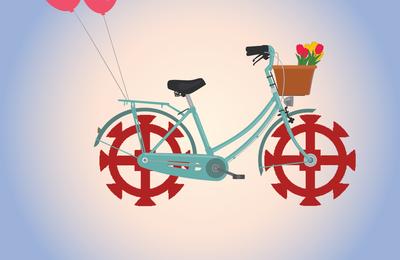 Voyager à vélo !