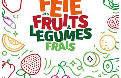 Fête des fruits et légumes frais le 21 juin à Saint-Etienne