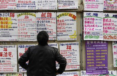 La Chine maîtrise son taux de chômage