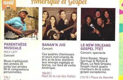Amérique & Gospel - Concerts gratuits à Tarascon