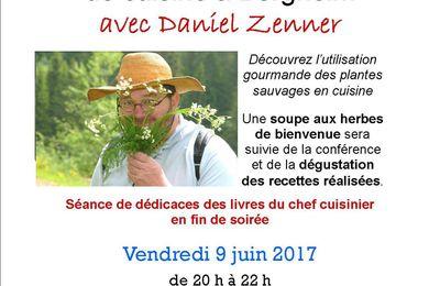 Conférence-démonstration de cuisine avec Daniel ZENNER