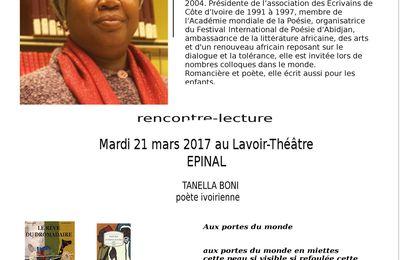Tanella Boni : les affiches