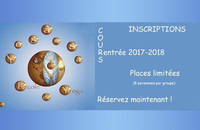 INSCRIPTION TOUTE L'ANNEE