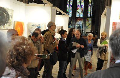 À la biennale d'art sacré actuel 2017, profond retournement, il y a aussi des conférences-débats, des concerts...