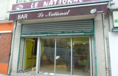 Le café National va devenir une pizzeria