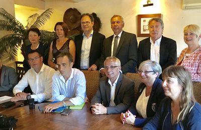 [Législatives] Les élus réunis autour d'Arnaud Viala et Sébastien David