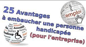 le taux de chomage des personnes handicapés est le double du taux de chomage en France