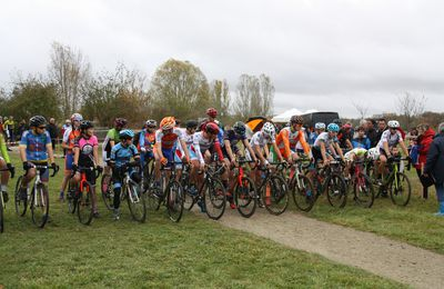 SAINTES. CYCLO-CROSS  Cadets/Juniors