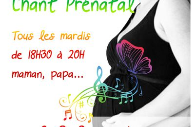 Atelier de chant prénatal en collectif