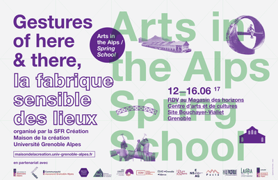 Gestures of Here and There : la fabrique sensible des lieux
