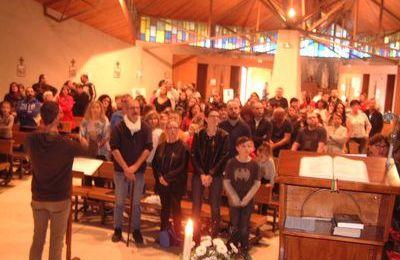 Temps de bienvenue pour les enfants de la 1ière communion