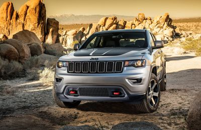 Jeep Grand Cherokee Trailhawk - 2017 - Gallery