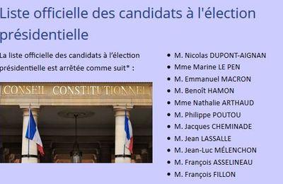 Parrainages pour #FR2017 et Conseil Constitutionnel