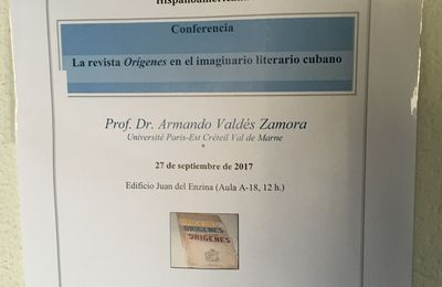 CONFERENCIA EN LA UNIVERSIDAD DE SALAMANCA