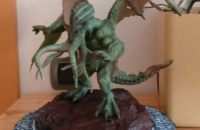 Great Cthulhu statue - Halloween Forevermore