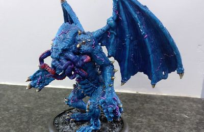 Bestial Wars Q'Thulu painted