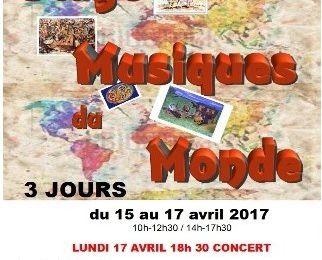 Stage : Musiques du monde