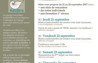 Rendez-vous dans l'Aude en Septembre