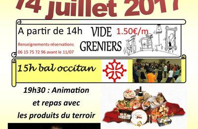 Thézac : Fête nationale et grand marché gourmand.