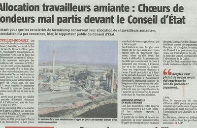 Ex-salariés de Metaleurop : Scandale de l'amiante, vers une mauvaise nouvelle ?
