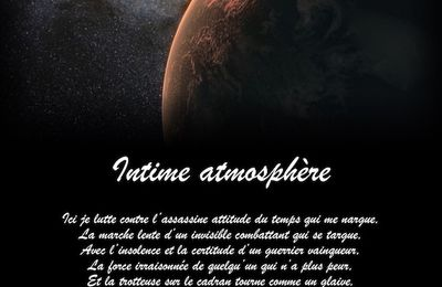 Intime atmosphère...