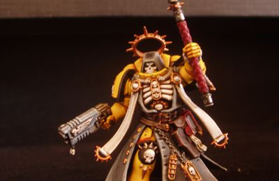 W40K : Chaplain Imperial Fist