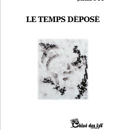 """Kristof nous présente son prochain recueil """"Le temps déposé"""""""