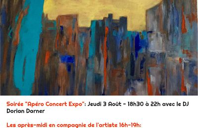 Prochainement exposition aout -sept-Le Beausset Save the date .......