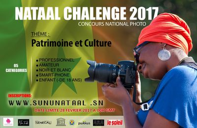 PHOTOGRAPHIE : Lancement Concours photo Nataal Challenge 2017