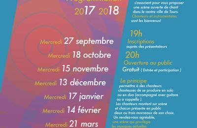 Scènes ouvertes de chant programmation 2017-2018