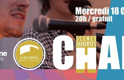 Mercredi 18 octobre 20h Scène ouverte de chant