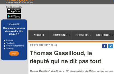 Gassilloud, Gross Filou !