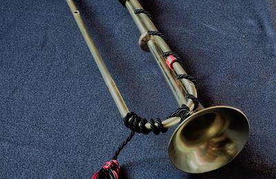 Trompette naturelle néo-baroque, harmonisée.