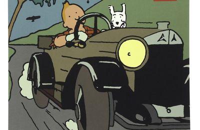 Calendrier et agenda Tintin