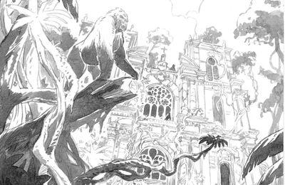 En attendant la couleur... voici la version noir et blanc de l'affiche 2017 dessinée par A.Dan.