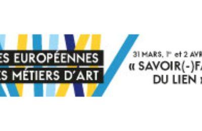 Programme des Journées Européennes des Métiers d'Art 31 Mars, 1er et 2 Avril de 11H à 19H