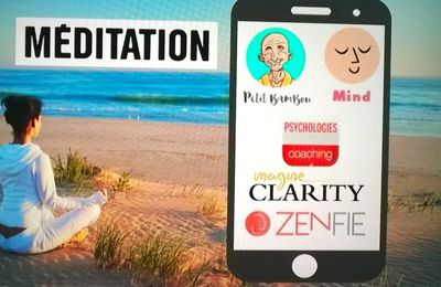La méditation en applications smartphone !!