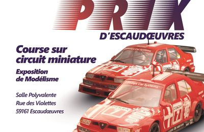 GRAND PRIX D'ESCAUDOEUVRES 2017