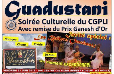 Soirée Culturelle du CGPLI 23 juin 2017, Le Moule (Guadeloupe)