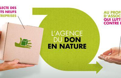 Agence pour le don en nature. Campagne nationale 2017