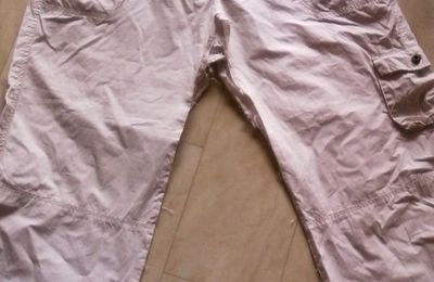 Un pantacourt transformé en jupe