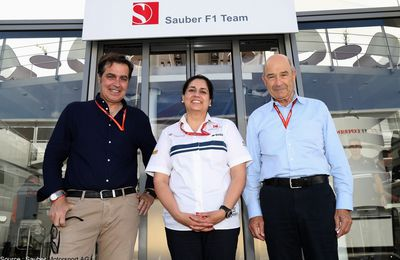 Sauber officialise le départ de Monisha Kaltenborn