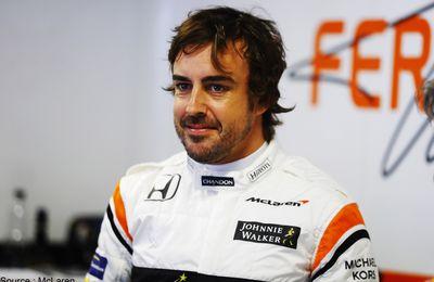 Fernando Alonso décide de rester chez McLaren pour 2018