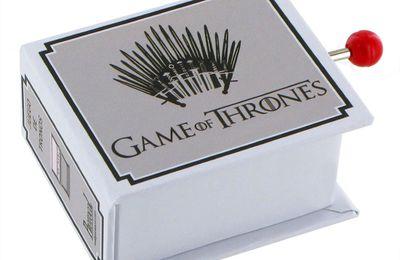 Découvrez la boîte à musique à manivelle Game of Thrones