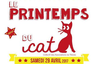 LE PRINTEMPS DU CAT: SAMEDI 29 AVRIL - 14H00 MONESTIER DE CLERMONT