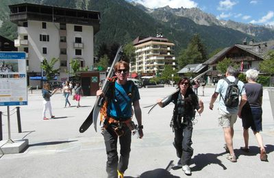 Mont- Blanc en boucle (3 Monts - Grands mulets)