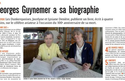 Georges Guynemer a sa biographie