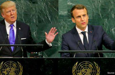 Et si le «multilatéralisme» de Macron n'était qu'une version édulcorée de la ligne Trump ?