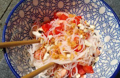 Salade Thaï aux écrevisses